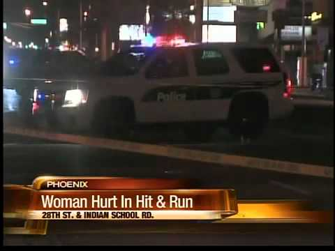 Police look for driver who hit woman and took off