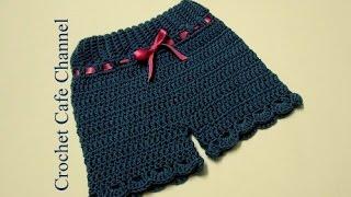 getlinkyoutube.com-كروشيه شورت للأطفال| #كروشيه كافيه_Crochet Cafe#