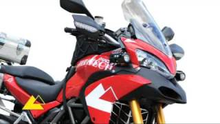 getlinkyoutube.com-Touratech Accessories: Ducati Multistrada