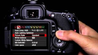 getlinkyoutube.com-Canon EOS 60D Tutorial - Picture Style Operation 10/14