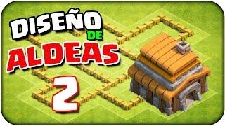 getlinkyoutube.com-Diseño de aldeas #2 Aldea defensiva ayuntamiento nivel 5 (Th5)