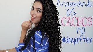 getlinkyoutube.com-REVITALIZAÇÃO: Arrumando os cachos no dia seguinte | Mayse Cavalcante