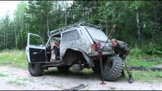 getlinkyoutube.com-Один день на реке Кан, фильм из серии путешествий по Сибири в 2013 году