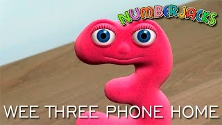 getlinkyoutube.com-NUMBERJACKS | Wee Three Phone Home | S2E4