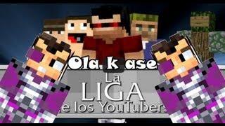 getlinkyoutube.com-Minecraft | Vegetta777 con la Liga Youtuber! :D [Detrás de cámara]