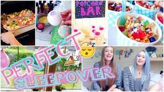 HOW TO: Plan The Perfect Sleepover ✧ Food, Activities, Snacks etc.