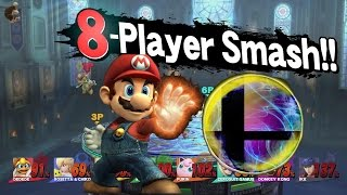 getlinkyoutube.com-All 51 Characters Final Smashes in 8 PLAYER SMASH!!! (Super Smash Bros Wii U)