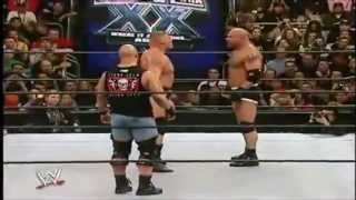 getlinkyoutube.com-Goldberg Vs. Brock Lesnar Highlights - Wrestlemania 20