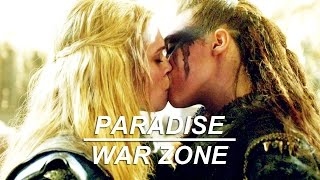clexa | it's a paradise and it's a war zone