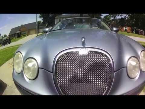 Jaguar type S oil change