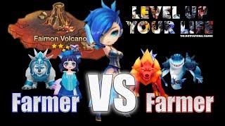 getlinkyoutube.com-TMG Summoners War: Farmer VS Farmer - Get your XP the best way