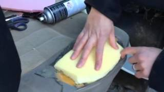 getlinkyoutube.com-How to repair your seat with foam