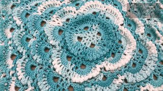 How to Crochet A Baby Blanket: Heirloom Baby Afghan