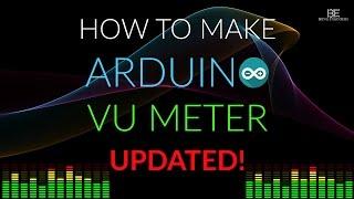 getlinkyoutube.com-How to make Arduino VU Meter   UPDATED!