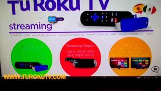Conecta tu Tablet o Laptop a tu Roku (www.turokutv.com)
