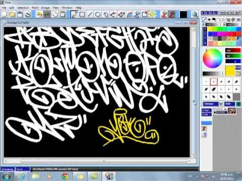 abecedario de graffiti (how to tag  Graffiti).mp4
