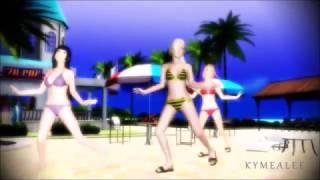 getlinkyoutube.com-[MMD] Koshitantan - Ino, Hinata and Sakura