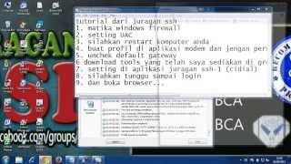 tutorial ssh untuk pemula