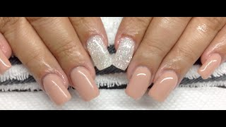 How To Nude Hard Gel Nails