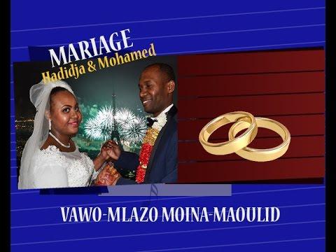 Mariage de  Mohamed Issihaka et Hadidja Mohamed Hassane -  Diboini