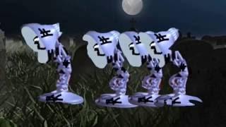 Luxo Jr. Zombies - Halloween Gift Short Film