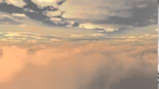 background awan senja