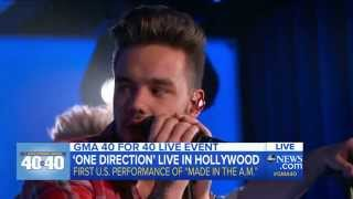 getlinkyoutube.com-One Direction answers fan questions - GMA 40 for 40