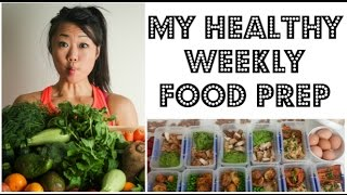getlinkyoutube.com-MEAL PREP - HOW I PREPARE 11 HEALTHY MEALS FOR THE WEEK   My weekly meal prep   11 MEALS 17 SNACKS