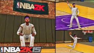 getlinkyoutube.com-Attribute update, Jumpshot, Dunk , Crossovers all animations (Myplayer) NBA 2k15