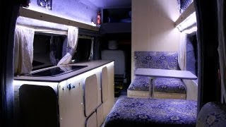 getlinkyoutube.com-HOW TO MAKE A SELF-BUILD MOTORHOME - Low Budget - From Start to Finish