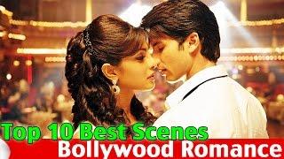 TOP 10 Bollywood Romance Scenes   Part 1 Romantic Love