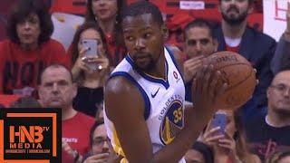 Golden State Warriors vs Houston Rockets 1st Qtr Highlights / Game 2 / 2018 NBA Playoffs
