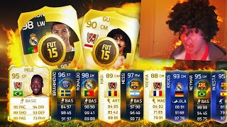 GREATEST FIFA 15 PACKS IN HISTORY
