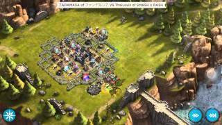 getlinkyoutube.com-Rival Kingdoms: stronghold 10 nice defense