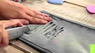 getlinkyoutube.com-Personaliza Tus Prendas #1: Tutorial Jean con rasgado y escarcha