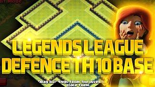 getlinkyoutube.com-Clash of Clans - TH 10 LEGENDARY TROPHY BASE!