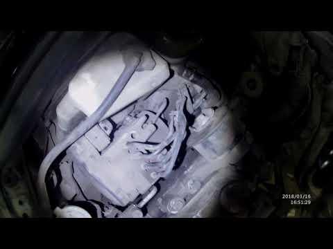 Как снять генератор  на Lexus ES 350