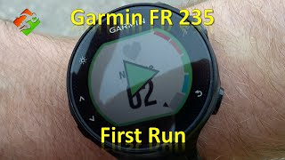 getlinkyoutube.com-Garmin FR 235 - First Run