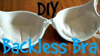 getlinkyoutube.com-DIY Backless Bra