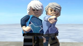 getlinkyoutube.com-LEGO Quicksilver vs Quicksilver ( LEGO Marvel Super Heroes )