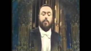 getlinkyoutube.com-A Pavarotti Christmas - Panis Angelicus
