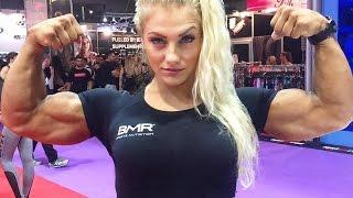 getlinkyoutube.com-Impressive Female Fitness Athlete - IFBB Pro Sandra Jokic