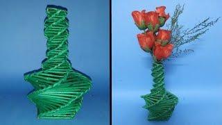 getlinkyoutube.com-How to make a flower vase