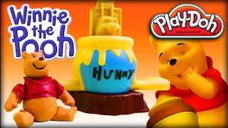 getlinkyoutube.com-♥ Play-Doh Disney Winnie the Pooh Making the Honey & Pooh 3D (PLAY-DOH Set for Preschool Kids)