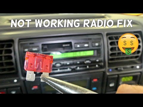 HOW TO FIX NOT WORKING RADIO | RADIO DOES NOT TURN ON