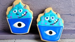 getlinkyoutube.com-SULLY MONSTERS UNIVERSITY COOKIES, HANIELA'S
