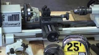 getlinkyoutube.com-MACHINE SHOP TIPS #54 Buying a Lathe EMCO UNIMAT Pt 3 of 3 tubalcain