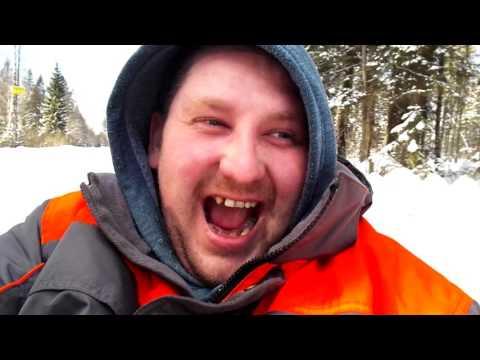 Зимние Покатушки на ховере.