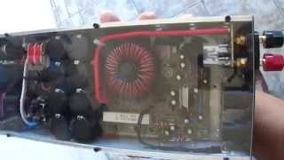 amplificador digital 8k2 127vac ligado diretamente na tomada