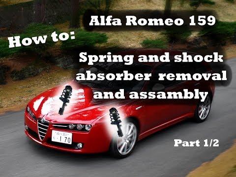 Где фильтр двигателя в Альфа Ромео 156